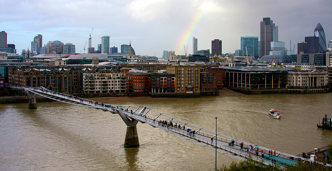 Millennium Bridge - London - Travel and documentary photography