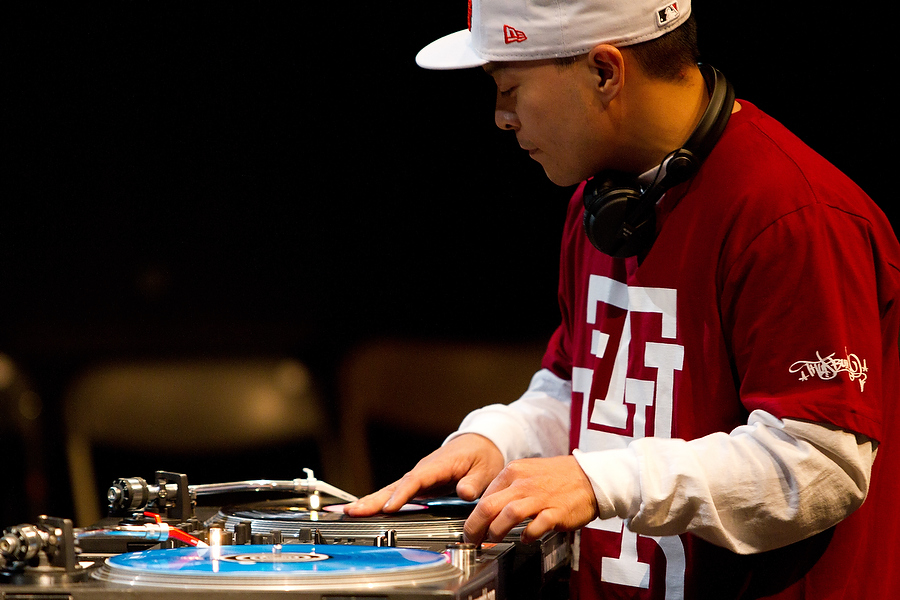 Dj Q-Bert - Music and events photography
